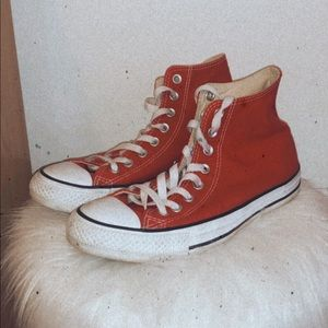 ~Red Hightop Converse~